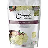 Organic Traditions Cacao Butter, 454g