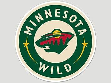 Wincraft Nhl Minnesota Wild 87579010 Perfekten Schnitt Farbe Aufkleber 20 3 X 20 3 Cm Schwarz Sport Freizeit