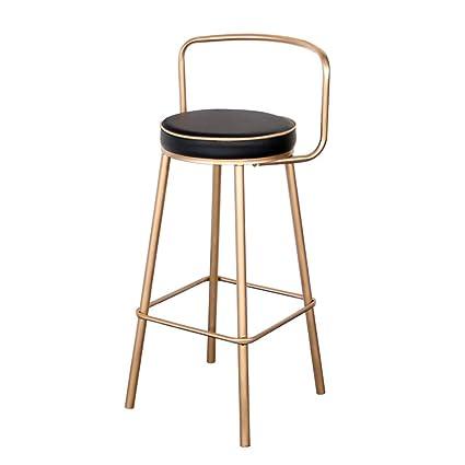 Pleasant Amazon Com Jssfqk Iron Bar Stool Coffee Bar Chair Fashion Unemploymentrelief Wooden Chair Designs For Living Room Unemploymentrelieforg