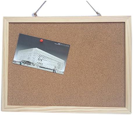 40 x 30 cm Glantop tablón de corcho con marco de madera: Amazon.es: Hogar