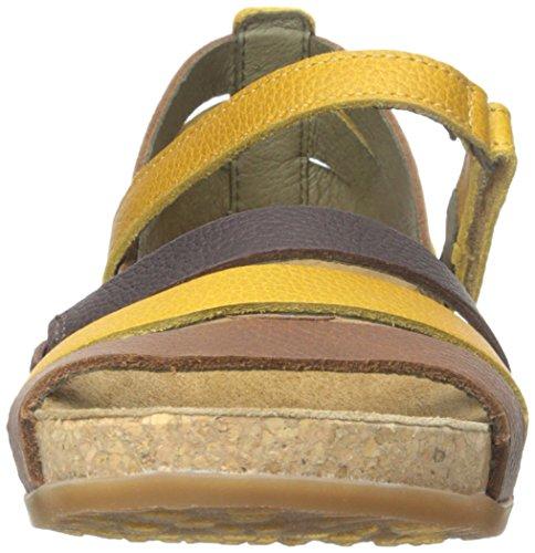 El Naturalista Damen Zumaia Offene Sandalen Multicolore
