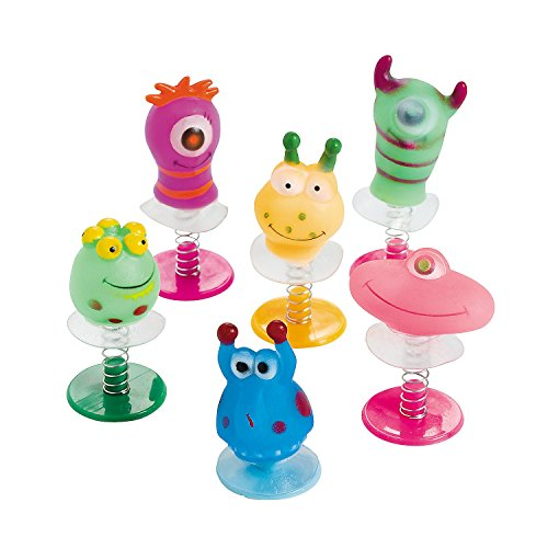 Fun Express Vinyl Monster Pop-Ups (12 Piece)
