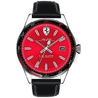 29d86ecf833 Relógio Scuderia Ferrari Masculino Couro Preto - 830489