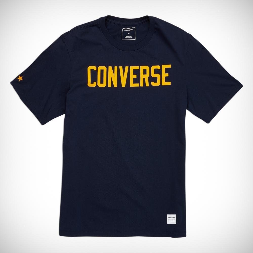 Converse Essentials Graphic tee - Camiseta, Hombre, Rojo(Team Red ...
