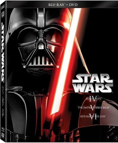 Star Wars Trilogy Episodes IV-VI (Blu-ray + DVD) (Star Wars Widescreen Trilogy)