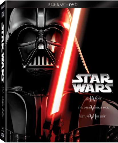 Blu-ray : Star Wars Trilogy: Episodes IV - VI (With DVD, Dubbed, Widescreen, Digital Theater System, AC-3)