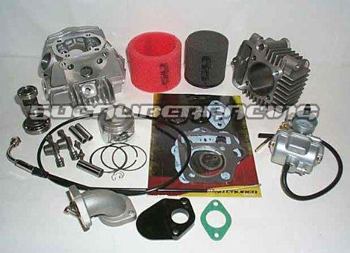 50 Caliber Racing 88cc Race Head Kit for Honda 50 fits CRF50 XR50 Dirt Bikes Pit Bikes (Bore Kit Race)