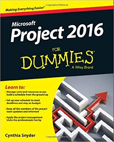 Project 2016 For Dummies: Cynthia Snyder Dionisio ...