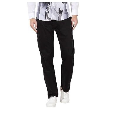 JiaMeng-ZI Pantalones Hombre, Color Sólido Suelto Tallas Grandes ...