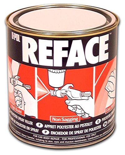 U-Pol Products 0719 REFACE Polyester Spray Filler - 1 Liter