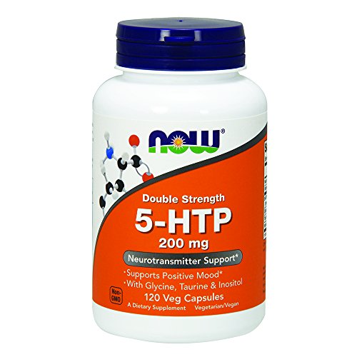 NOW Double Strength 5 HTP Capsules product image