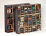 Wooden Type - set of 2 8x8 Photo Standouts, Handmade Wall Art, Writer's Gift, Mancave, letters, alphabet
