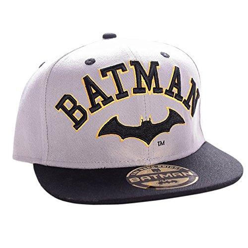 Batman - Gorra de béisbol - para hombre gris gris Talla única
