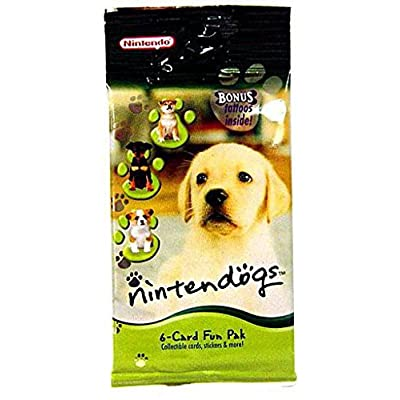 Nintendo Nintendogs 6-Card Booster Fun Pack: Toys & Games