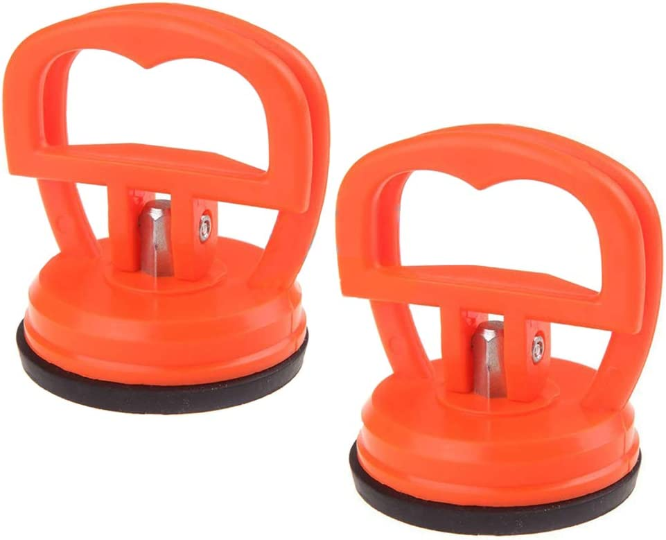 MMOBIEL Heavy Duty Suction Cups 2 Pcs Compatible with Several Technical Devices Etc. Repair LCD Screen Opening Cup Tool