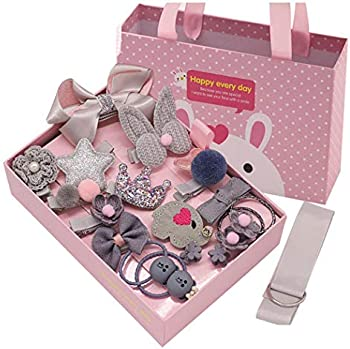 18-Pieces Wumedy Girls Bow Hair Clips Set