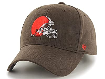 "Cleveland Browns 47 Brand NFL Youth ""Basic MVP"" Structured Adjustable Hat from 47 Brand"