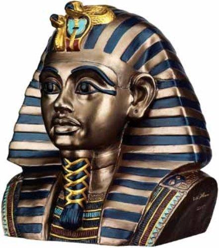 エジプトのファラオツタンカーメン王のヘッドボックス