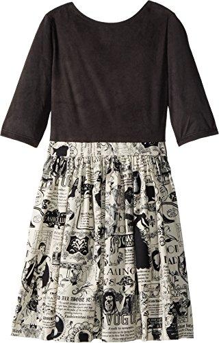 newsprint dress - 3
