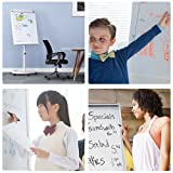 Mobile Dry Erase Board – 40x28 inches Magnetic
