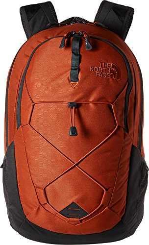 The North Face Jester Backpack – Ketchup Red Emboss/Asphalt Grey – One Size (Past Season)