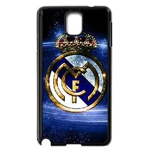 Samsung Galaxy Note 3 Cell Phone Case Black Real Madrid SLI_768645