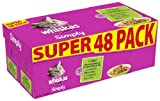 Whiskas Pouch Simply Grilled Meat and Fish '48 x 85 g pouches'