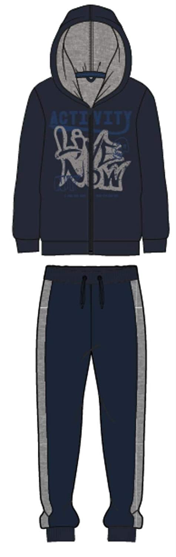Name It Tuta a completo giacca pantalone felpato cappucci taglia 14a colore blue