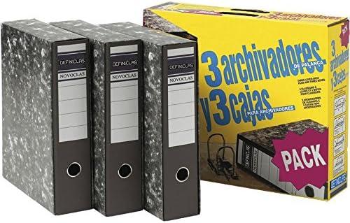 Definiclas 950158 - Pack de 3 archivadores: Amazon.es: Oficina y ...