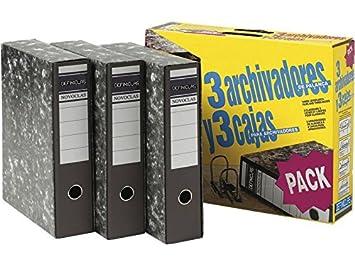 Definiclas 950158 - Pack de 3 archivadores