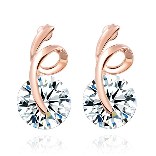 duo-la-elegant-simple-cubic-zirconia-18k-rose-gold-plated-lady-charm-stud-earrings
