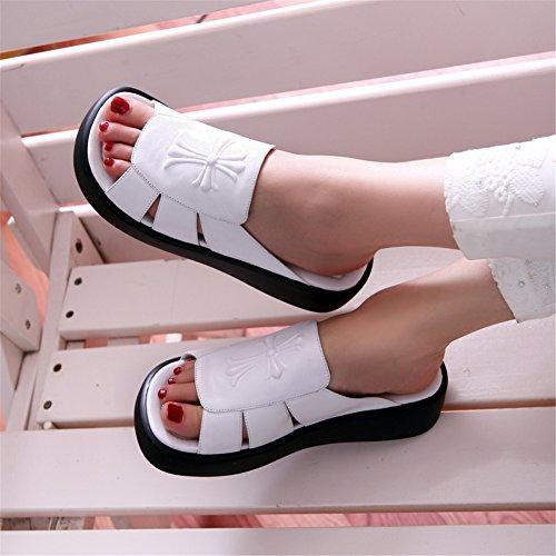 White MINIVOG Shoes Mule MINIVOG Flat White MINIVOG for Flat Flat for Mule Women Shoes Women Mule z87qzAwxa