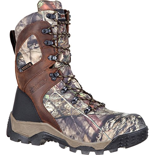 Rocky Men's RKS0309 Mid Calf Boot, Mossy Oak Break up Country Camoflauge, 9 W (Ultra Wide Calf Boot)