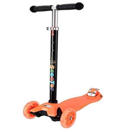 LJXin-Kick Scooters Patinete para niños de 2 a 15 años de ...