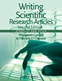 Writing Scientific Research Articles, Margaret Cargill and Patrick O'Connor, 1118570693