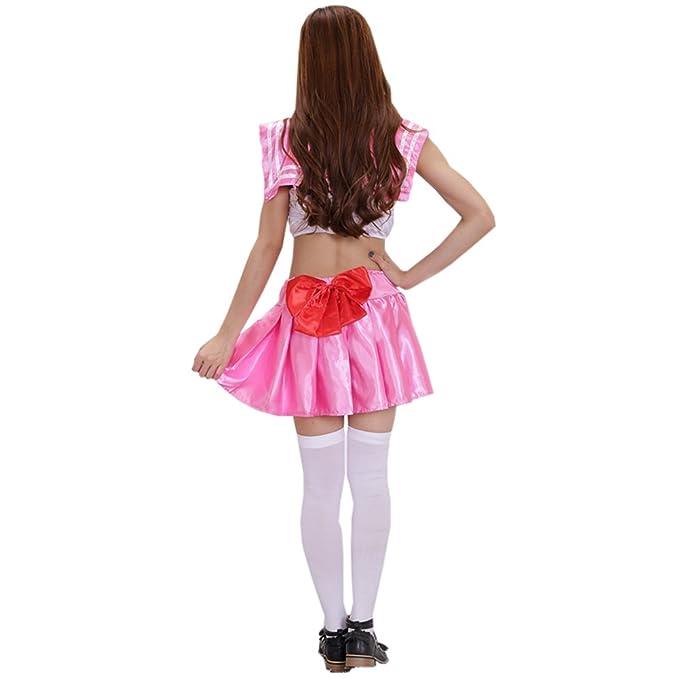 Amazon.com: ylmbmei traje de Cosplay Anime japonés Sailor ...