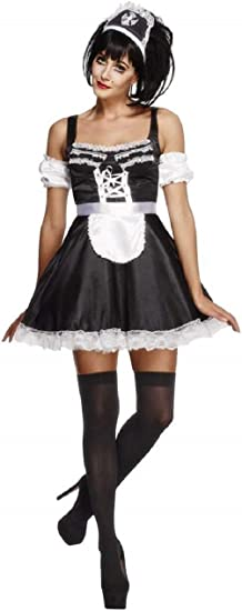 French Maid Costume Taglia 8-10