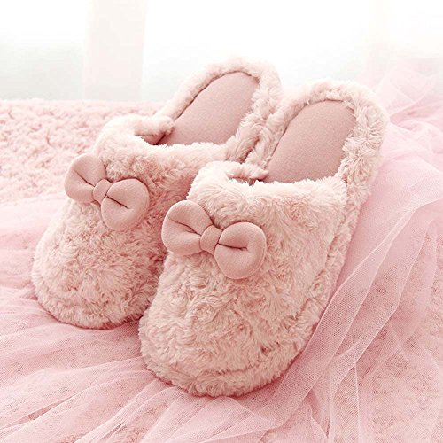 Warm 1 Women's Lovely Winter Home Skid Eastlion Color Plush Shoes Children's Anti Keep Indoor amp; Sippers wtZxxnpdqY