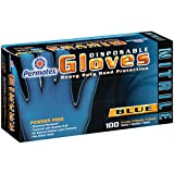 Permatex 09186 X-Large Disposable Nitrile Gloves, Box of 100