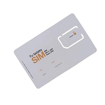 ORANGE Tarjeta Sim Prepago con Internet 3GB + 3 Euro ...