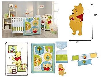 Disney Pooh/'s Play Day Crib Sheet