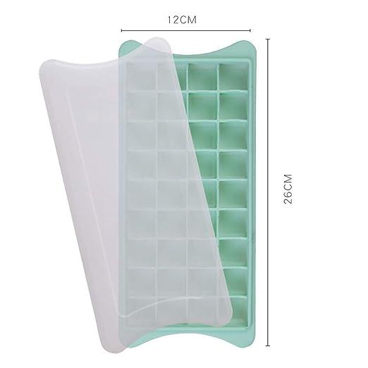 Xiangscz Moldes de silicona para cubitos de hielo, ideal para ...