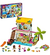LEGO Friends Beach House 41428 Building Kit; Sparks Hours of Summer Adventure Play, New 2020 (444...