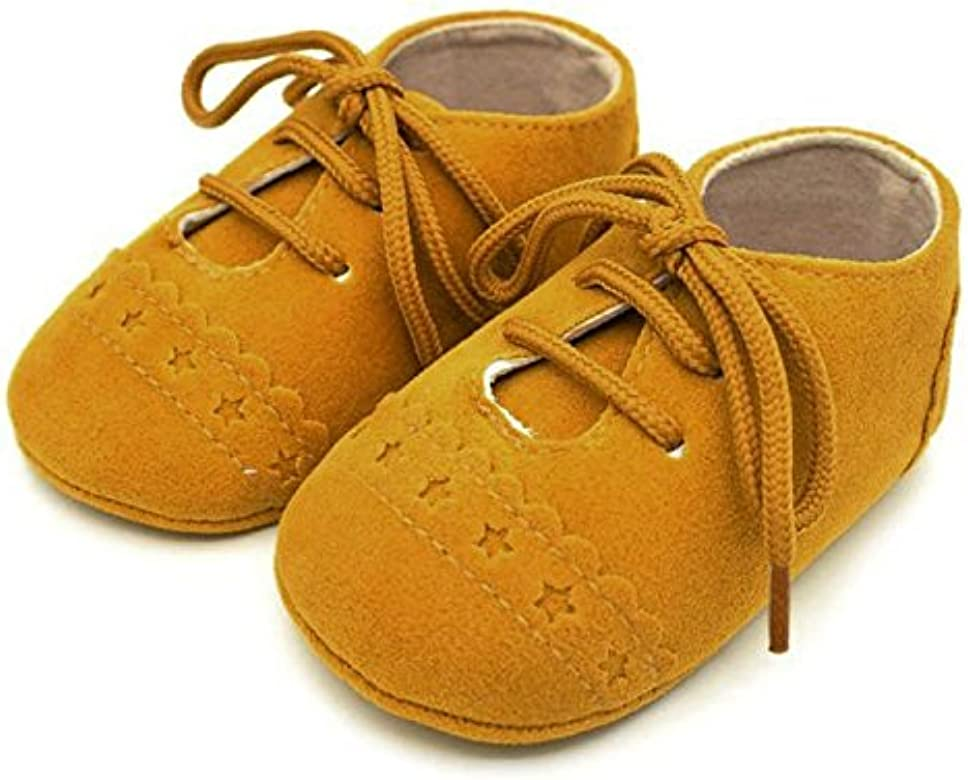 YanHoo Zapatos para niños Zapatos de bebé con Cordones Zapatos ...