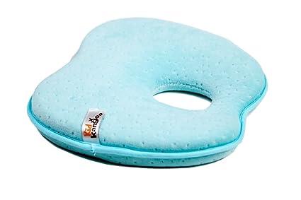 Almohada bebe para plagiocefalia, almohada para evitar la cabeza plana, cojin bebé, almohada para tu bebé previene la cabeza plana, almohada ...