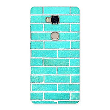 Premium Brick Cyan Back Case Cover for Huawei Honor 5X