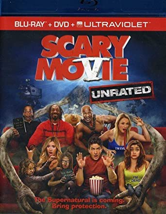 Amazon Com Scary Movie 5 Unrated Blu Ray Dvd Ultraviolet Simon Rex Ashley Tisdale Charlie Sheen Lindsay Lohan Katt Williams Sarah Hyland Terry Crews Jerry O Connell Kate Walsh Katrina Bowden Tyler Posey