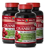 Cranberry organic concentrate – CONCENTRATED CRANBERRY 50: 1 – improve mental health (3 bottles) Review