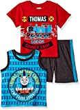 Thomas & Friends Toddler Boys 3 Piece Thomas Knit Jersey Short Set