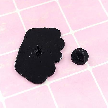 GloryMM Cartoon Cat Brooch Yarn Ball Shape Enamel Jacket Lapel Pin Animal ackpack Shirt Hat Dercoration Badge
